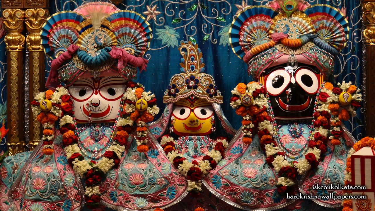 Jagannath Baladeva Subhadra Wallpaper (003) Size 1280x720 Download