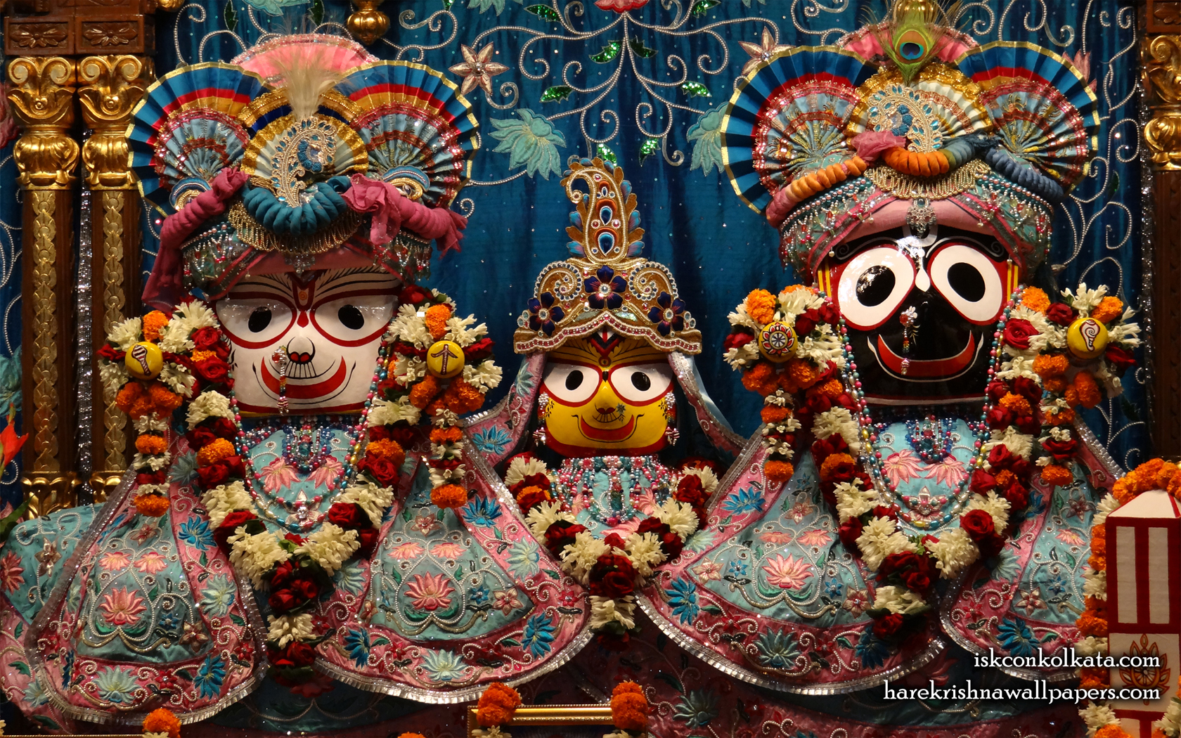 Jagannath Baladeva Subhadra Wallpaper (003) Size 1680x1050 Download