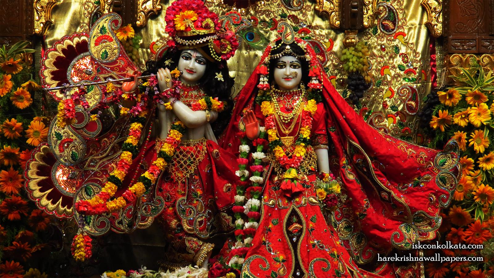 Sri Sri Radha Govinda Wallpaper (003) Size 1600x900 Download