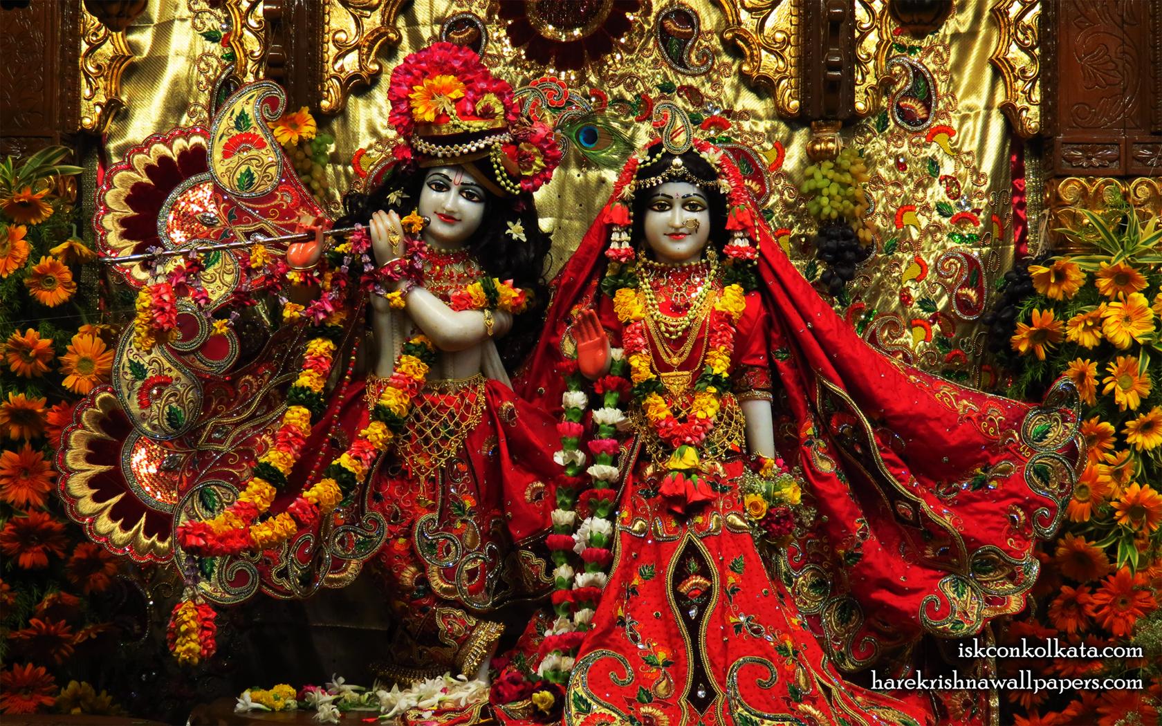 Sri Sri Radha Govinda Wallpaper (003) Size 1680x1050 Download