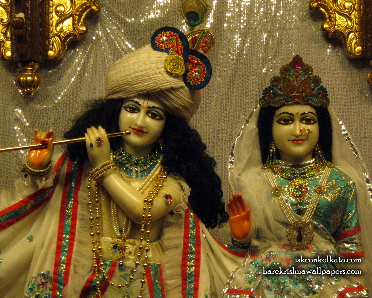 Sri Sri Radha Govinda Close up Wallpaper (003) Size 1280x1024 Download