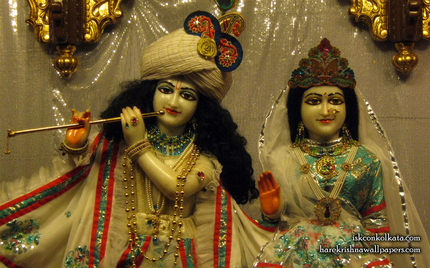 Sri Sri Radha Govinda Close up Wallpaper (003) Size 1440x900 Download