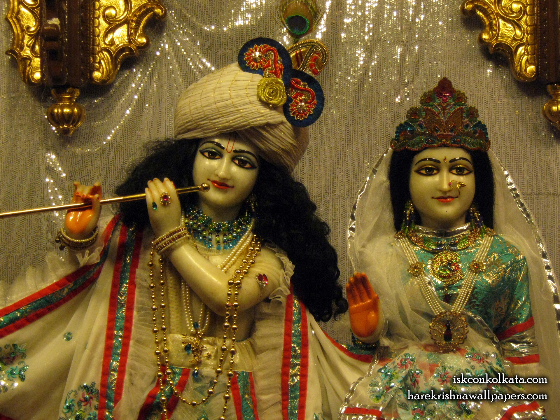 Sri Sri Radha Govinda Close up Wallpaper (003) Size 1920x1440 Download