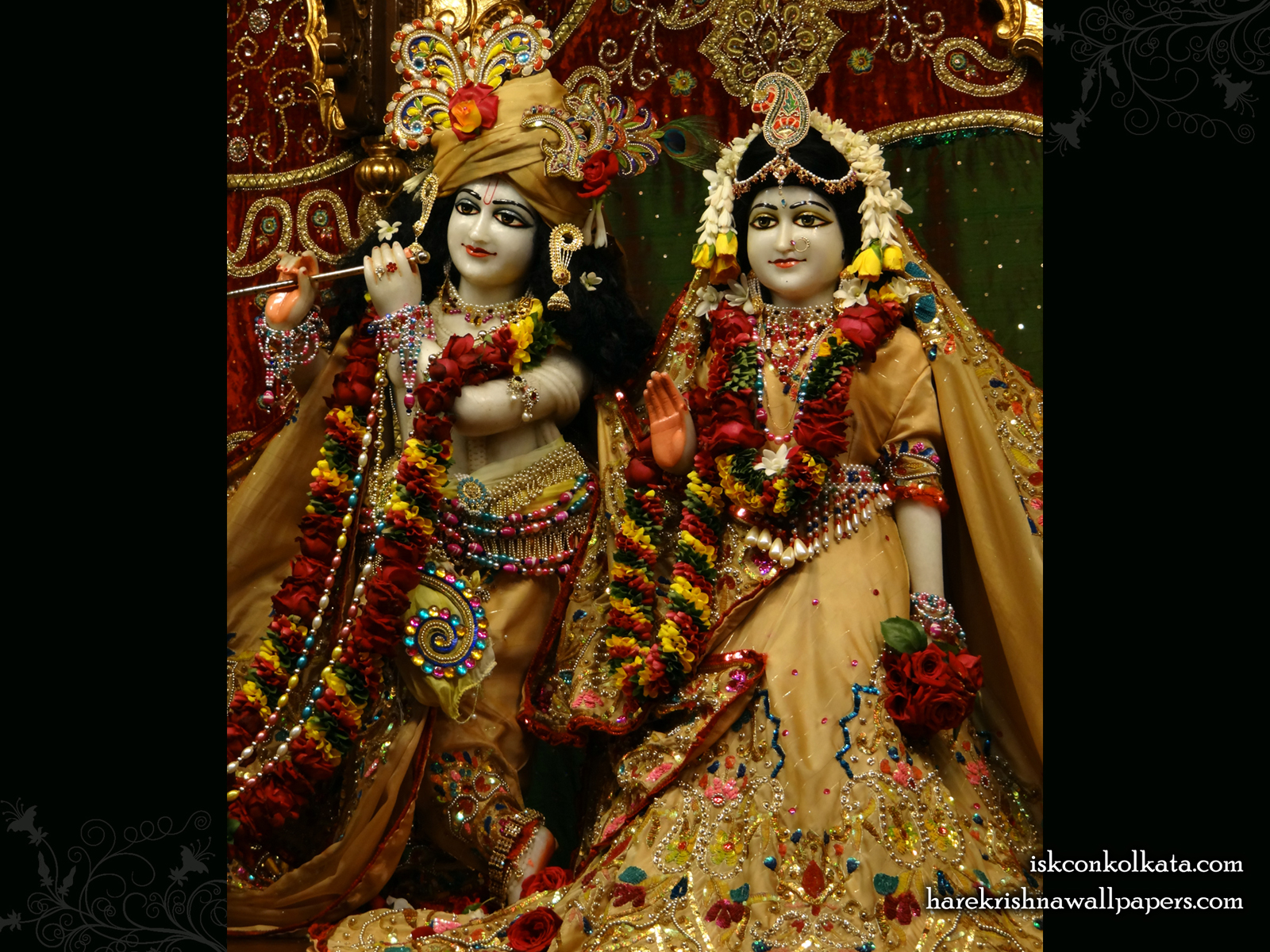 Sri Sri Radha Govinda Wallpaper (004) Size1600x1200 Download