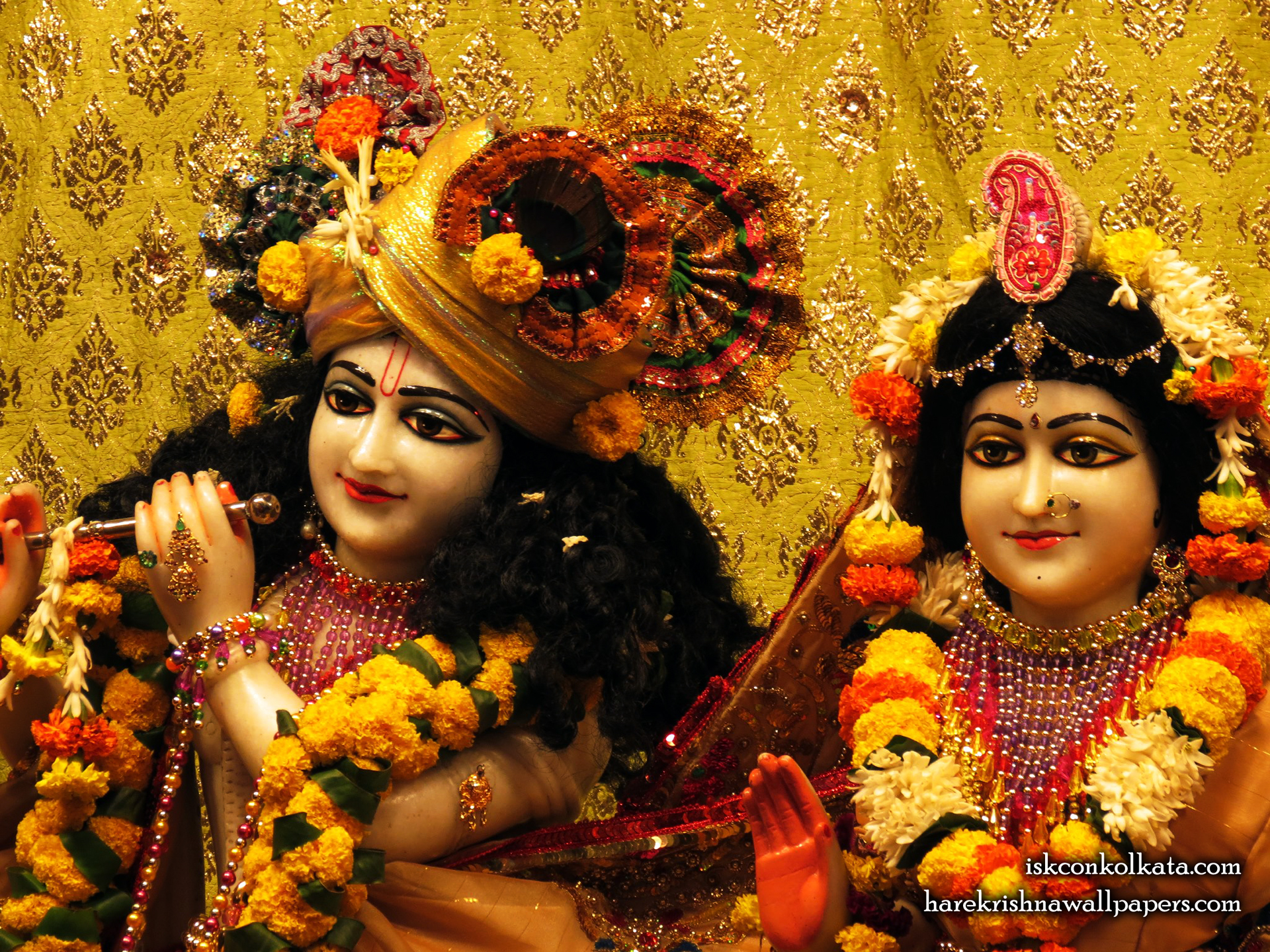 Sri Sri Radha Govinda Close up Wallpaper (004) Size 1920x1440 Download