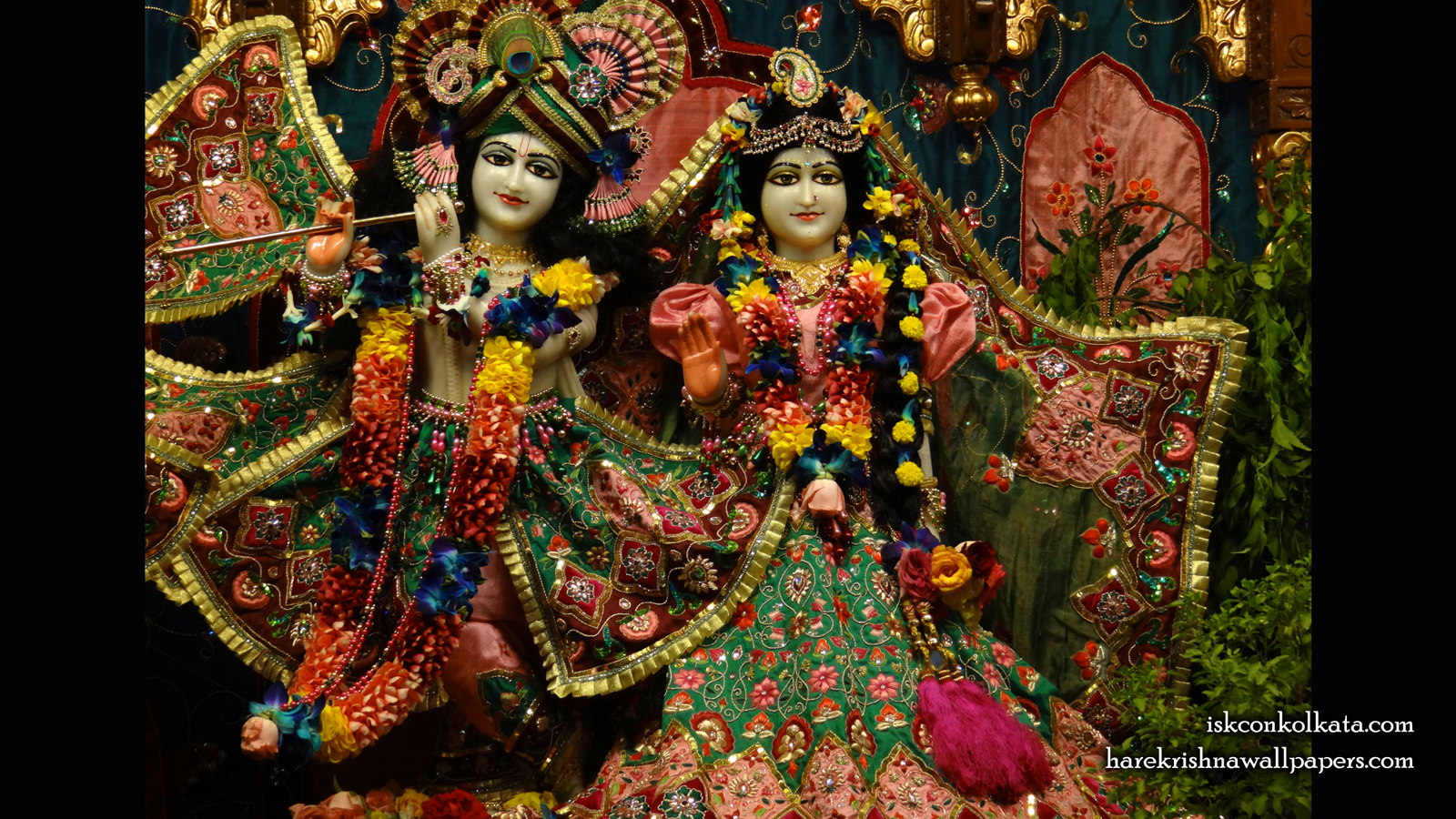 Sri Sri Radha Govinda Wallpaper (005) Size 1600x900 Download