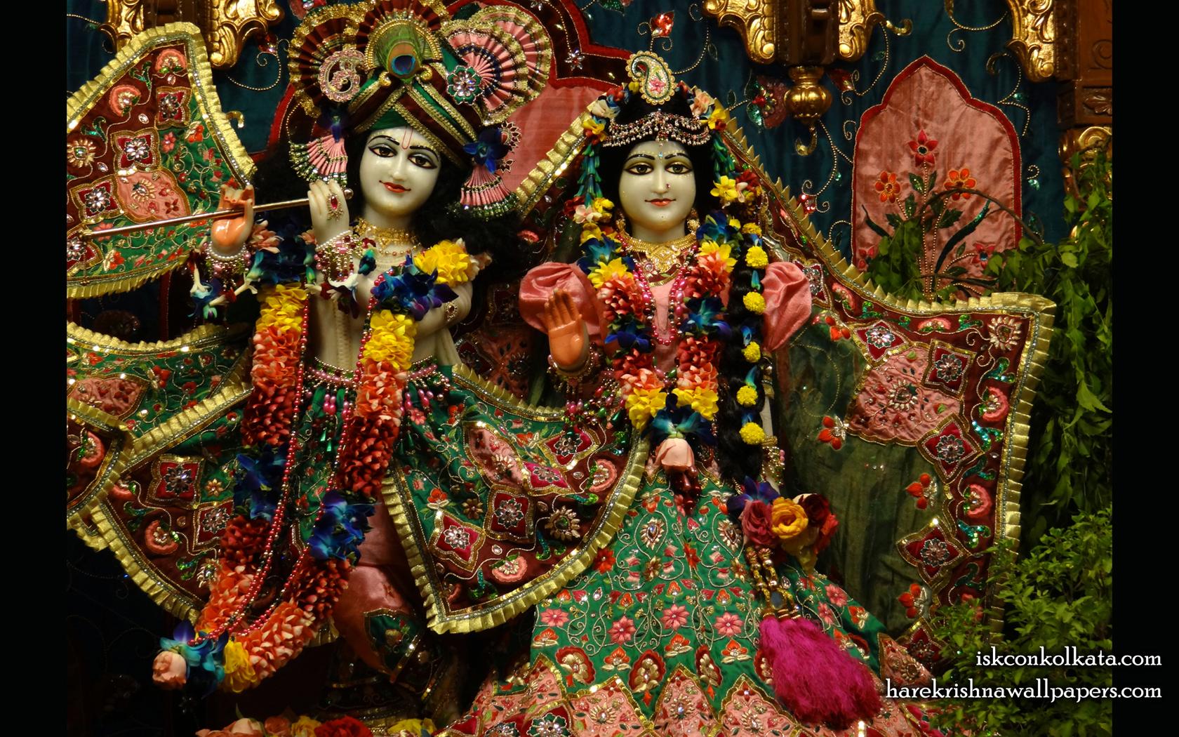 Sri Sri Radha Govinda Wallpaper (005) Size 1680x1050 Download