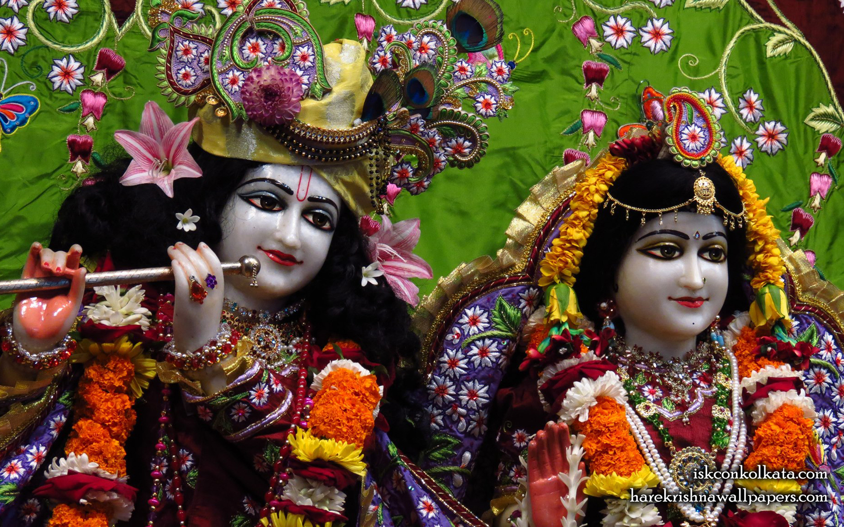 Sri Sri Radha Govinda Close up Wallpaper (005) Size 1680x1050 Download