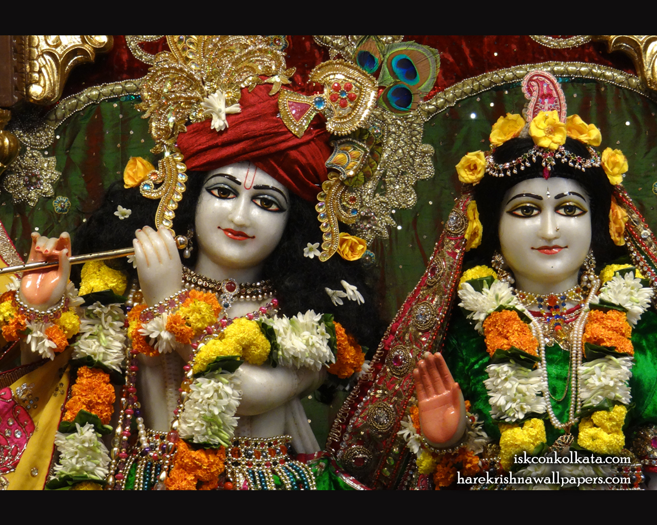 Sri Sri Radha Govinda Close up Wallpaper (006) Size 1280x1024 Download
