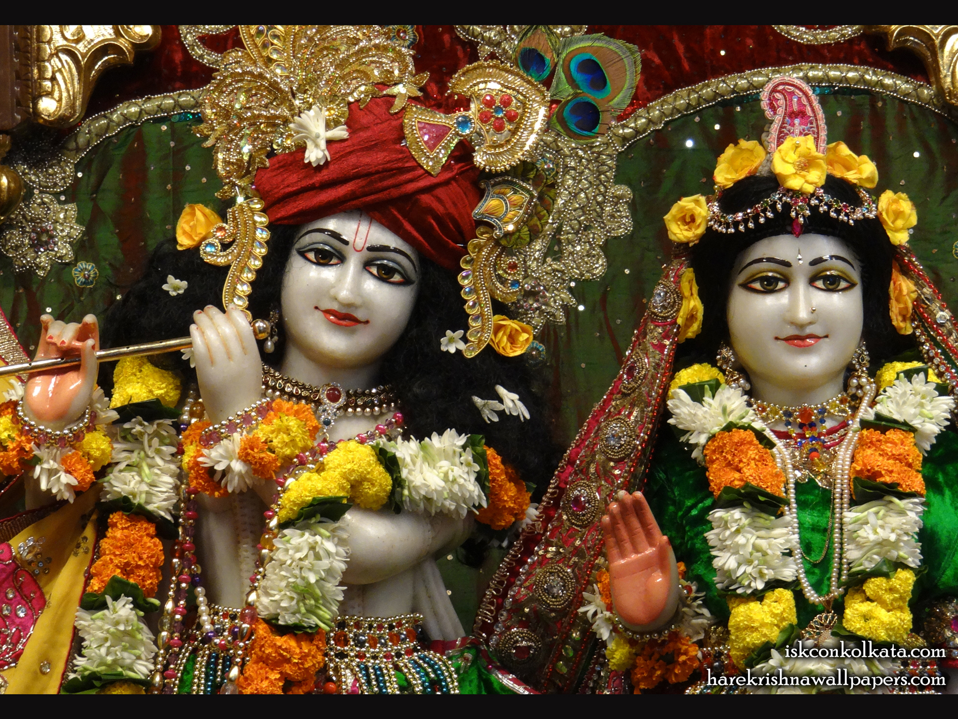 Sri Sri Radha Govinda Close up Wallpaper (006) Size 1920x1440 Download