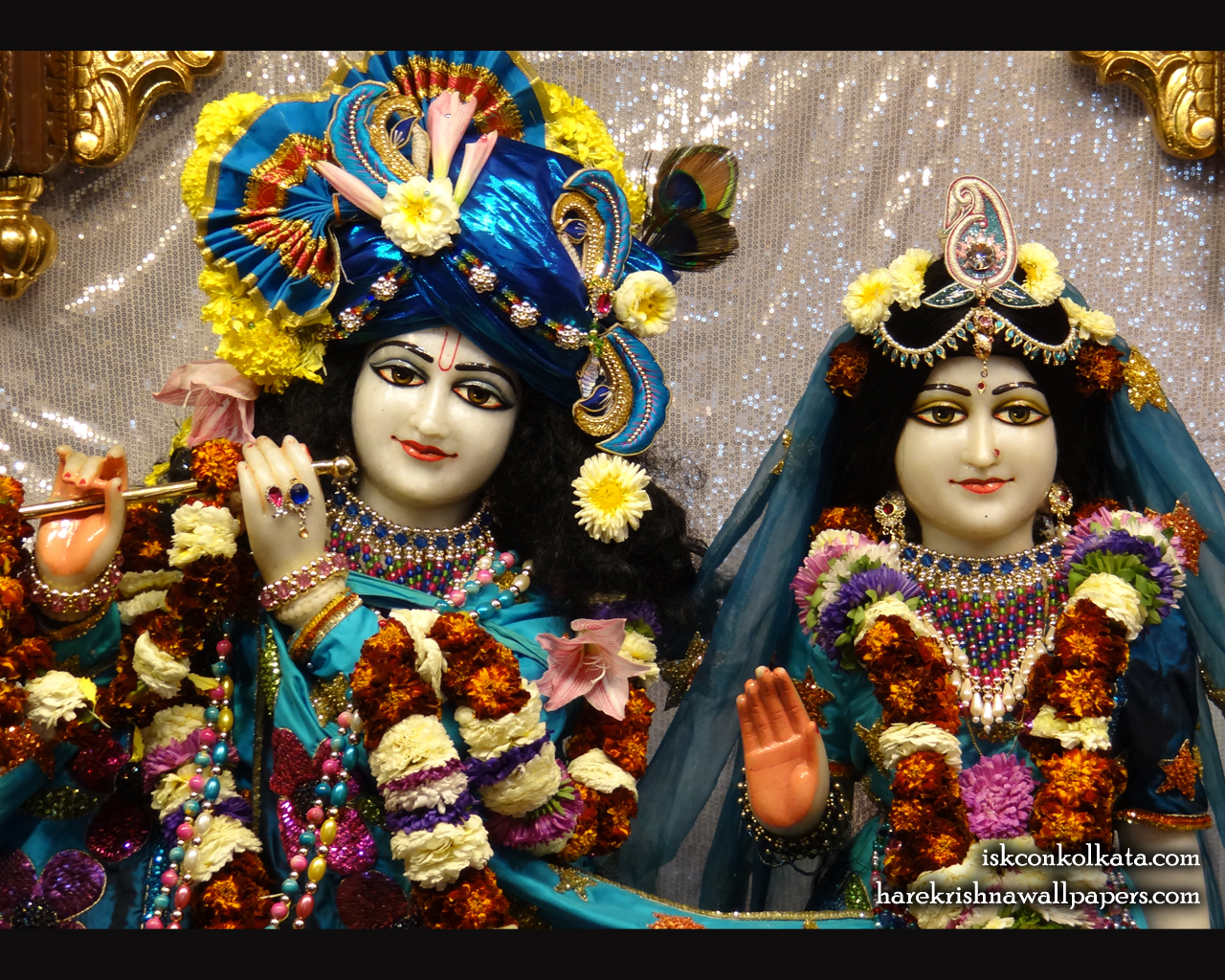 Sri Sri Radha Govinda Close up Wallpaper (007) Size 1280x1024 Download