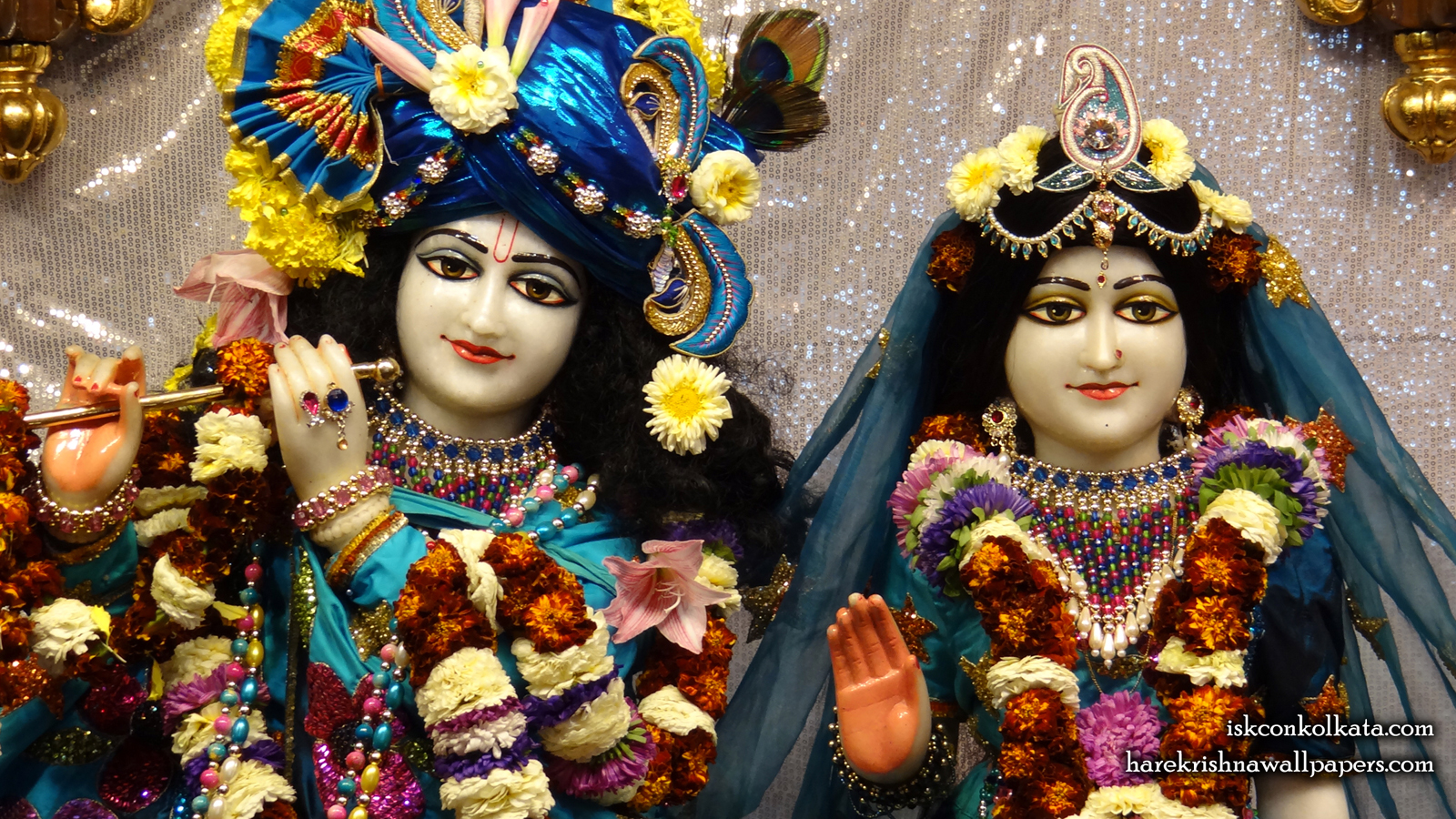Sri Sri Radha Govinda Close up Wallpaper (007) Size 1600x900 Download