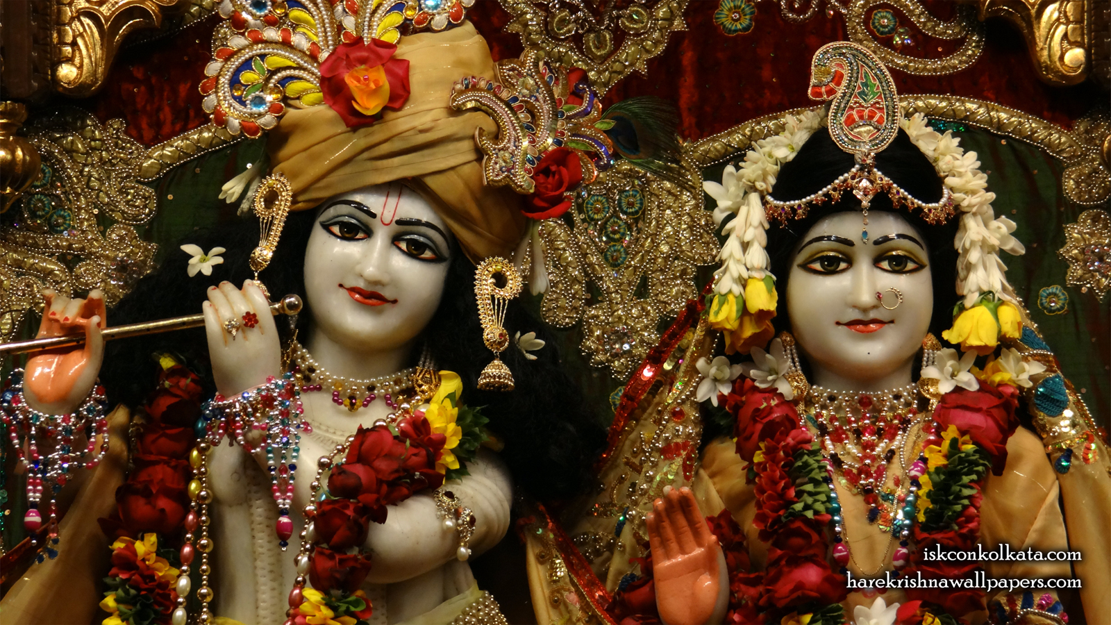 Sri Sri Radha Govinda Close up Wallpaper (009) Size 1600x900 Download