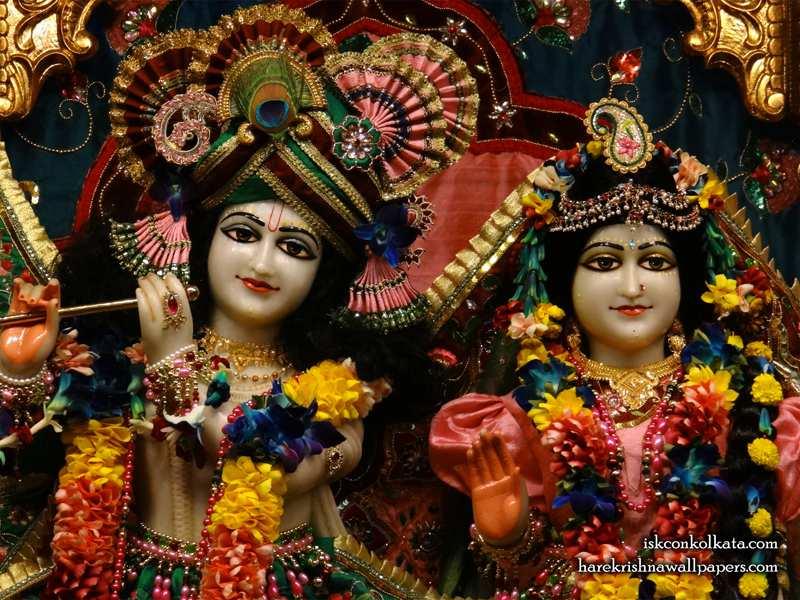 Sri Sri Radha Govinda Close up Wallpaper (010)