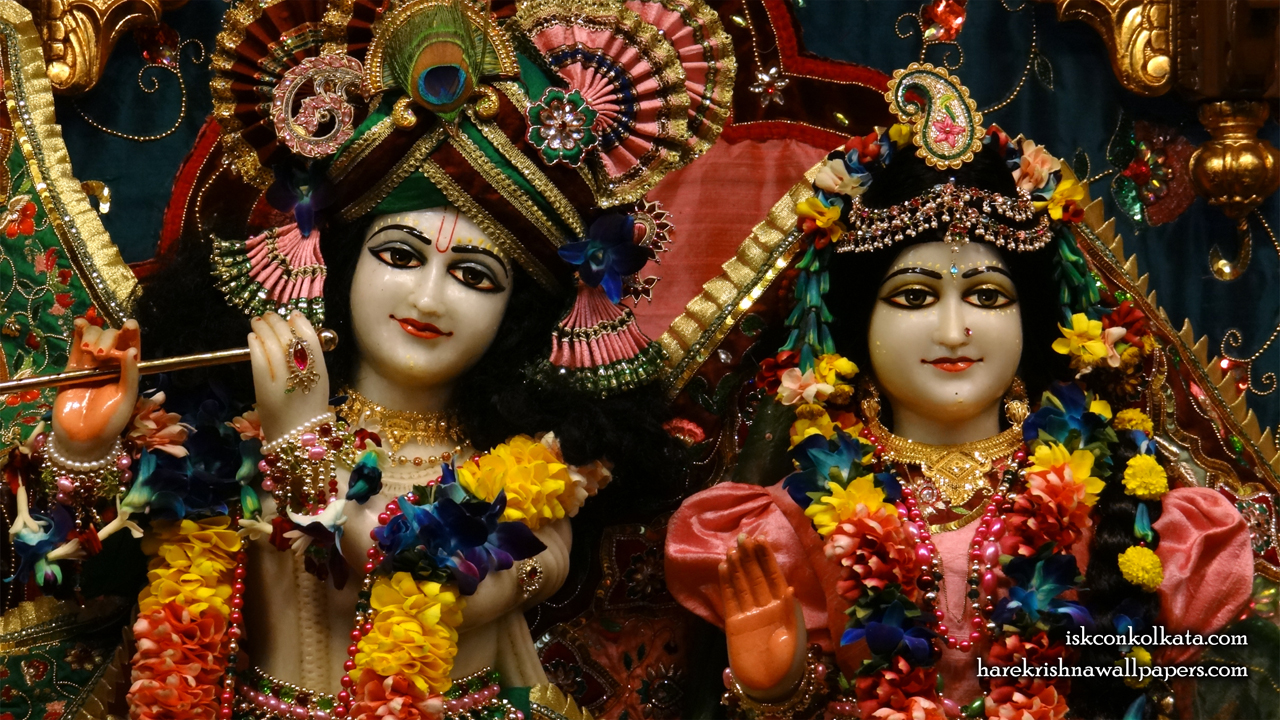 Sri Sri Radha Govinda Close up Wallpaper (010) Size 1280x720 Download