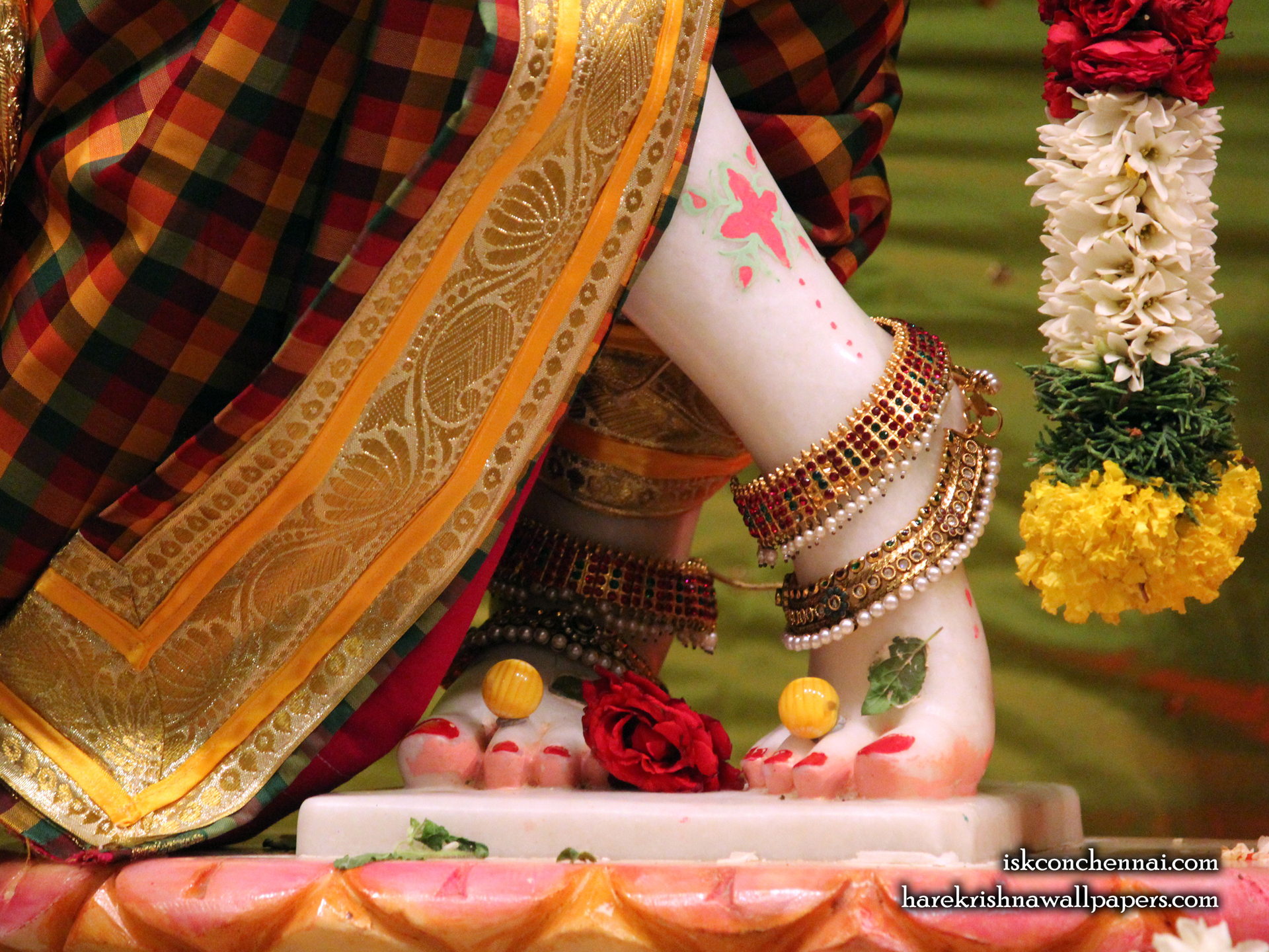 Sri Krishna Feet Wallpaper (001) Size 1920x1440 Download