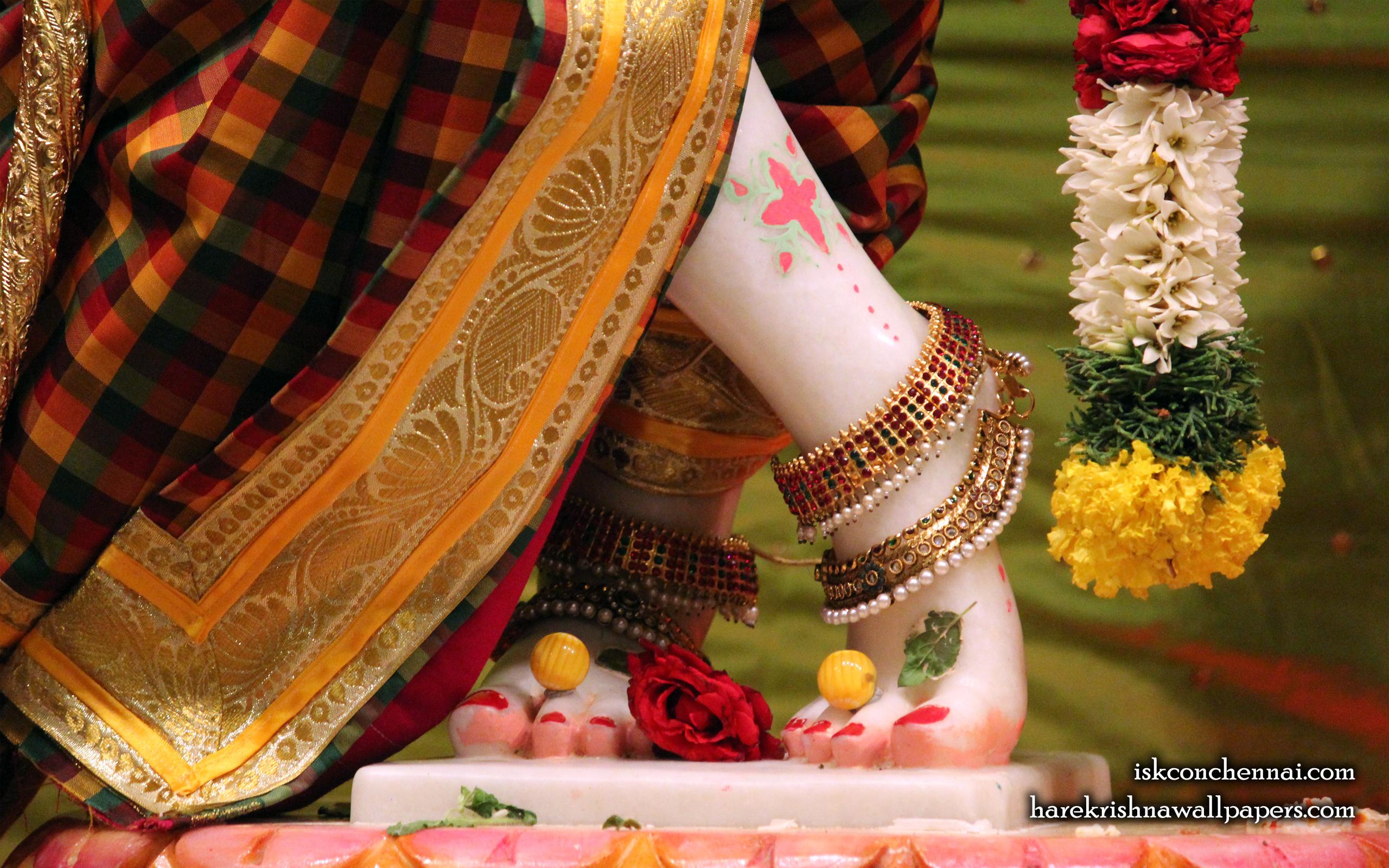Sri Krishna Feet Wallpaper (001) Size 2560x1600 Download