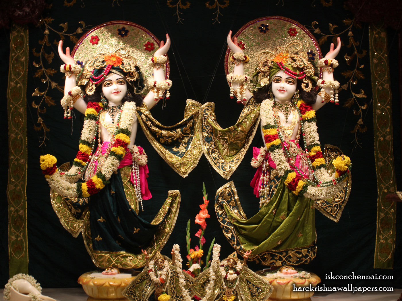 Sri Sri Gaura Nitai Wallpaper (001) Size 1400x1050 Download