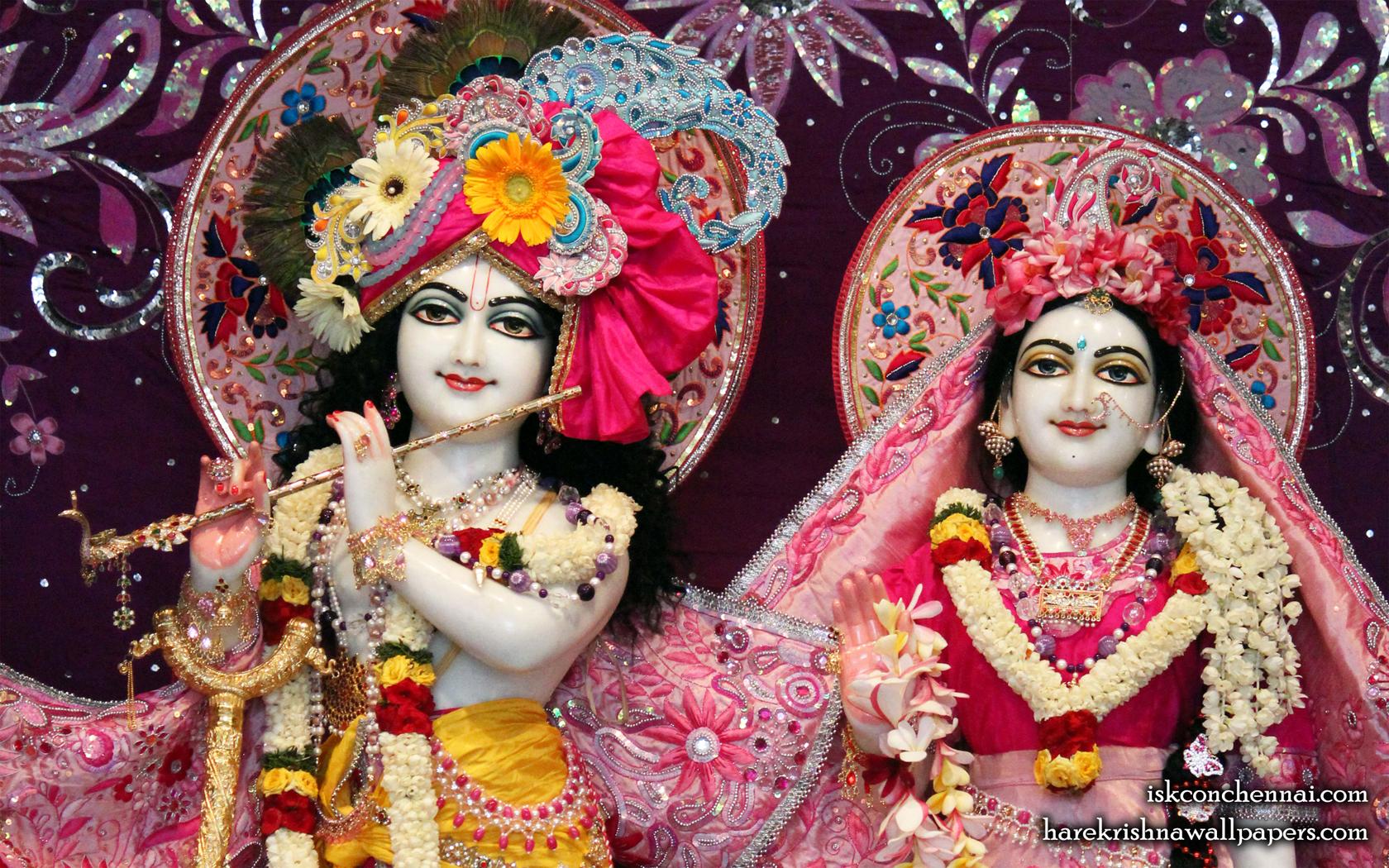 Sri Sri Radha Krishna Close up Wallpaper (001) Size 1680x1050 Download