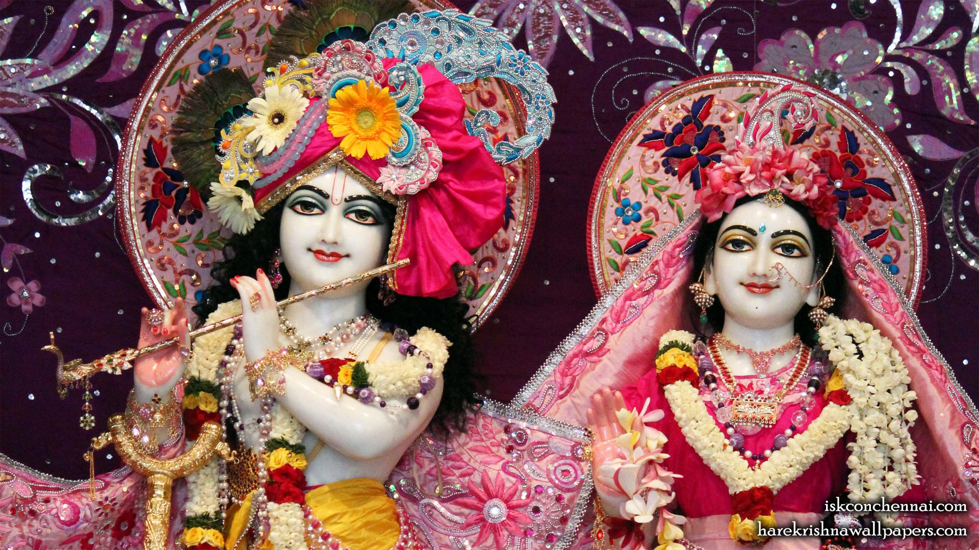 Sri Sri Radha Krishna Close up Wallpaper (001) Size 1920x1080 Download