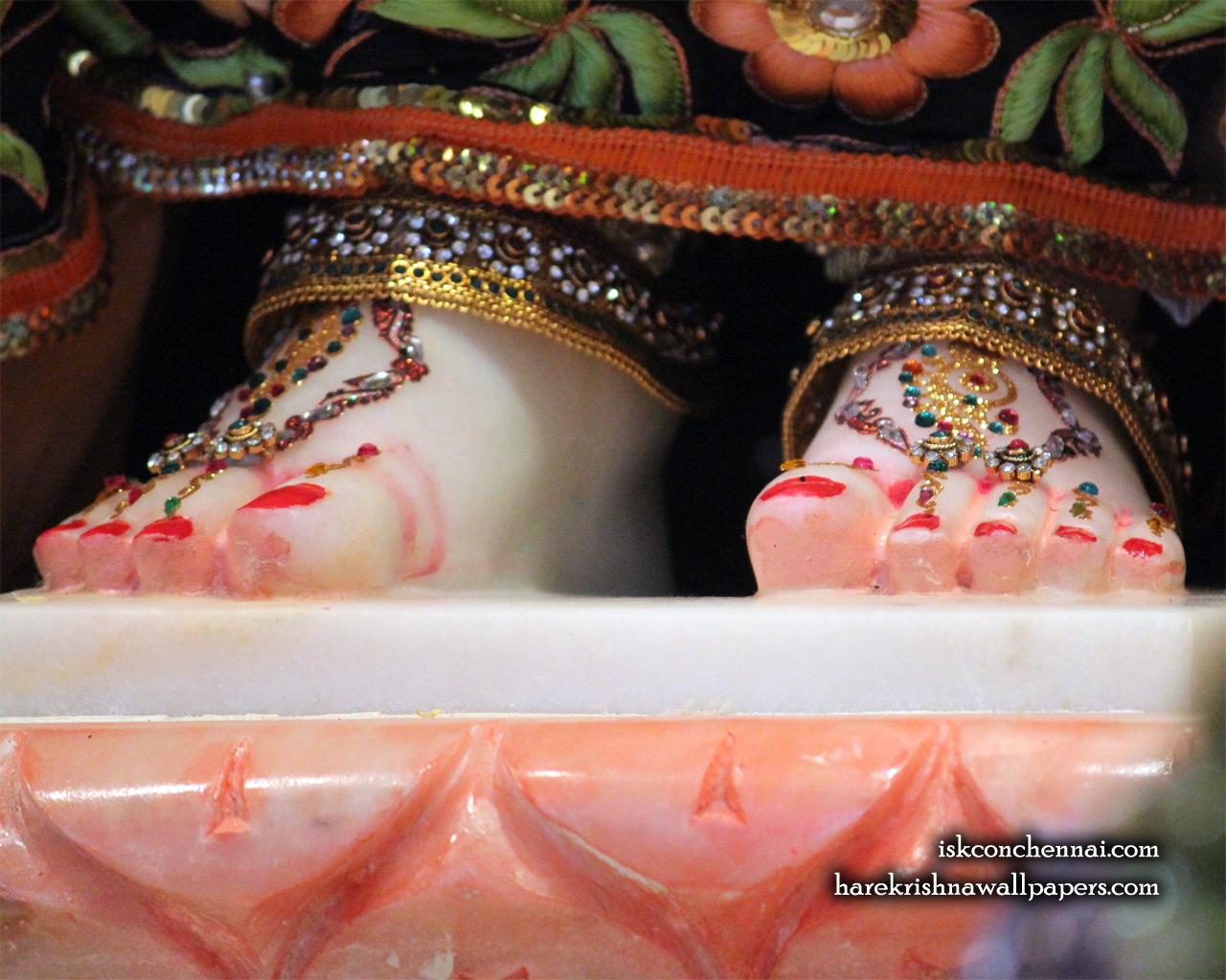 Srimati Radharani Feet Wallpaper (001) Size 1280x1024 Download