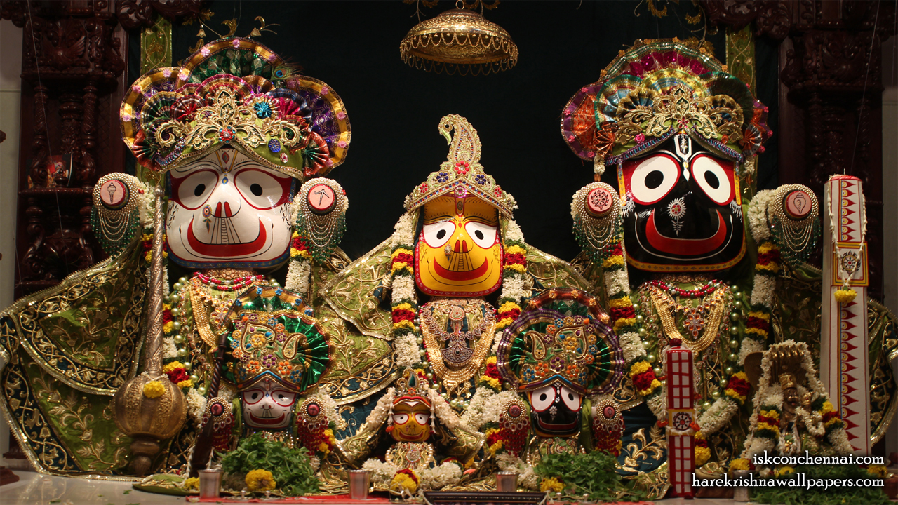 Jagannath Baladeva Subhadra Wallpaper (002) Size 1280x720 Download