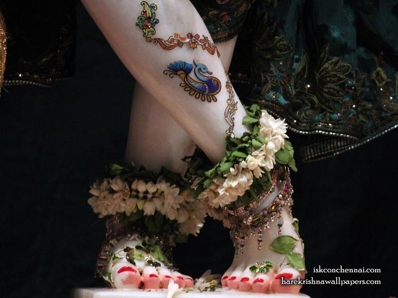 Sri Krishna Feet Wallpaper (002) Size 800x600 Download
