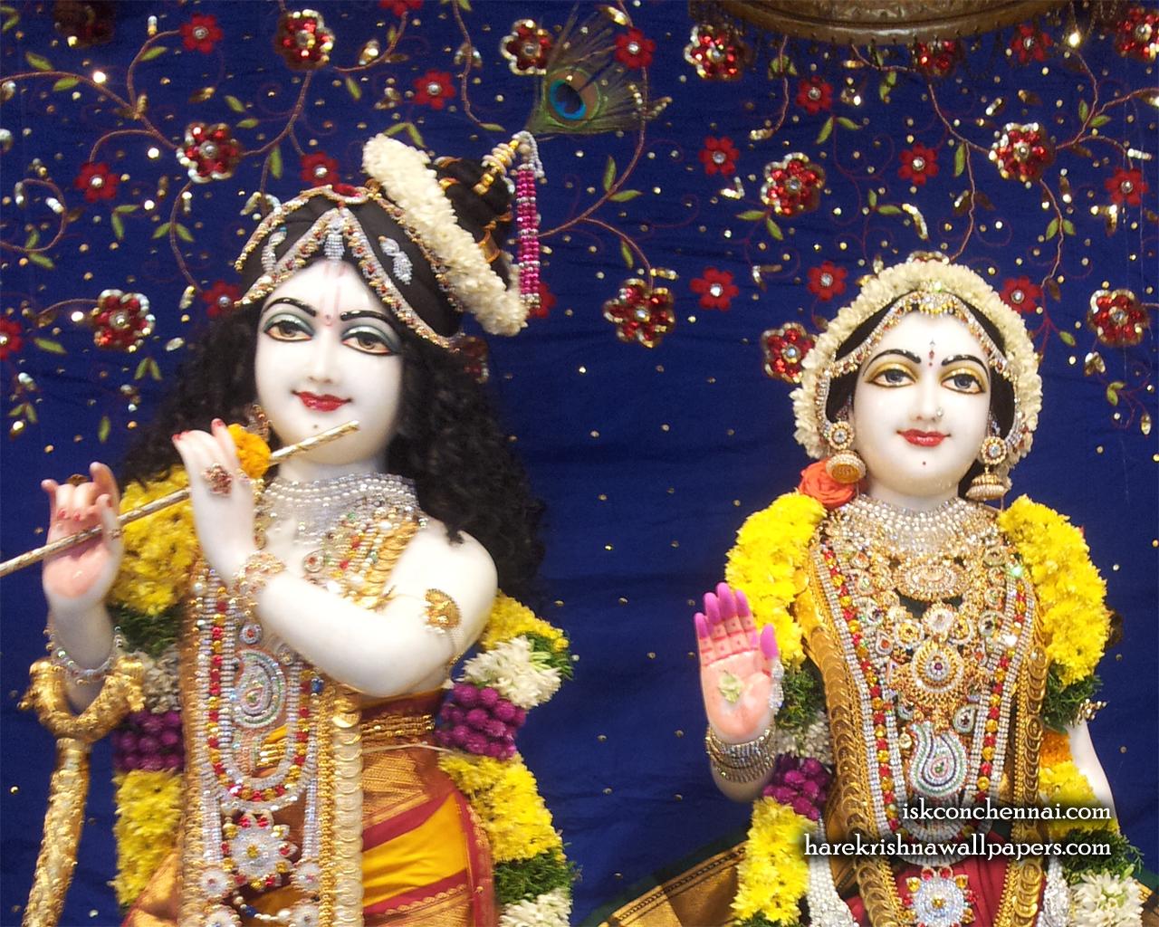 Sri Sri Radha Krishna Close up Wallpaper (002) Size 1280x1024 Download