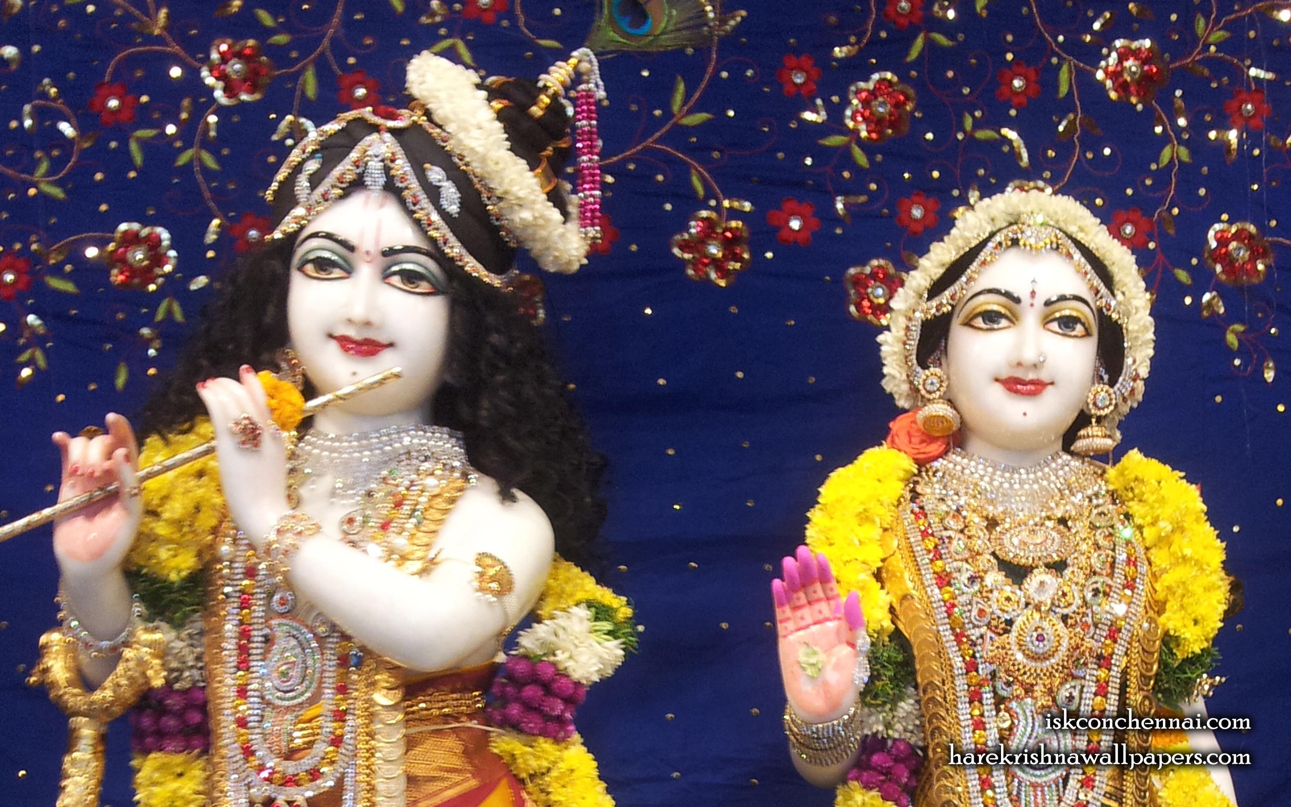 Sri Sri Radha Krishna Close up Wallpaper (002) Size 2560x1600 Download