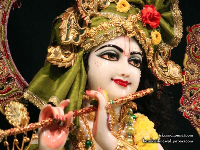 Sri Krishna Close up Wallpaper, Hare Krishna Wallpapers