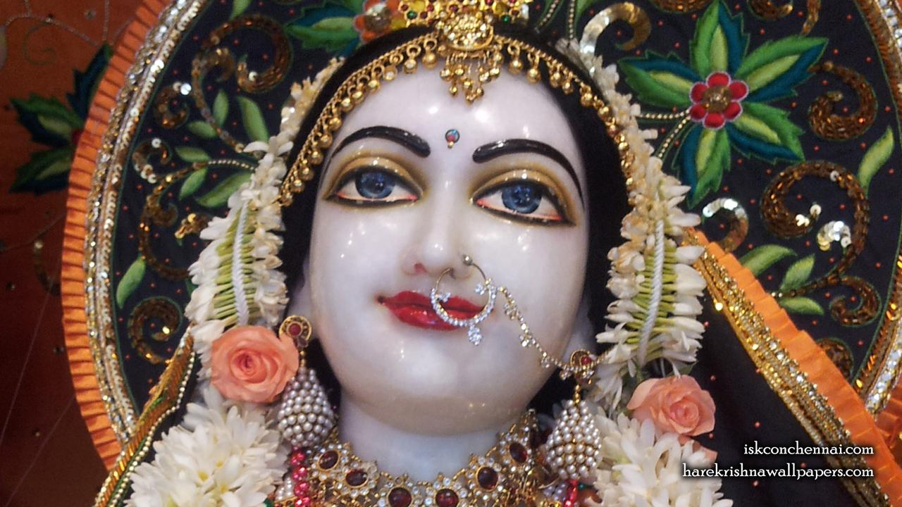 Sri Radha Close up Wallpaper (003) Size 1280x720 Download