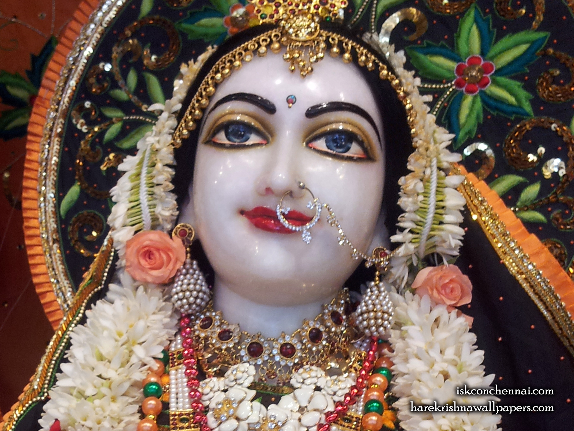 Sri Radha Close up Wallpaper (003) Size 1920x1440 Download