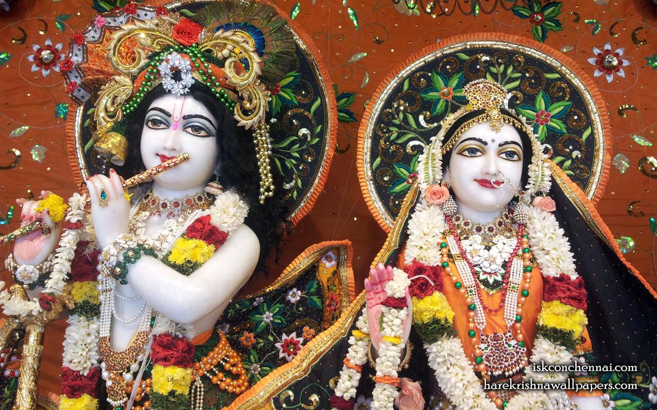 Sri Sri Radha Krishna Close up Wallpaper (003) Size 1280x800 Download