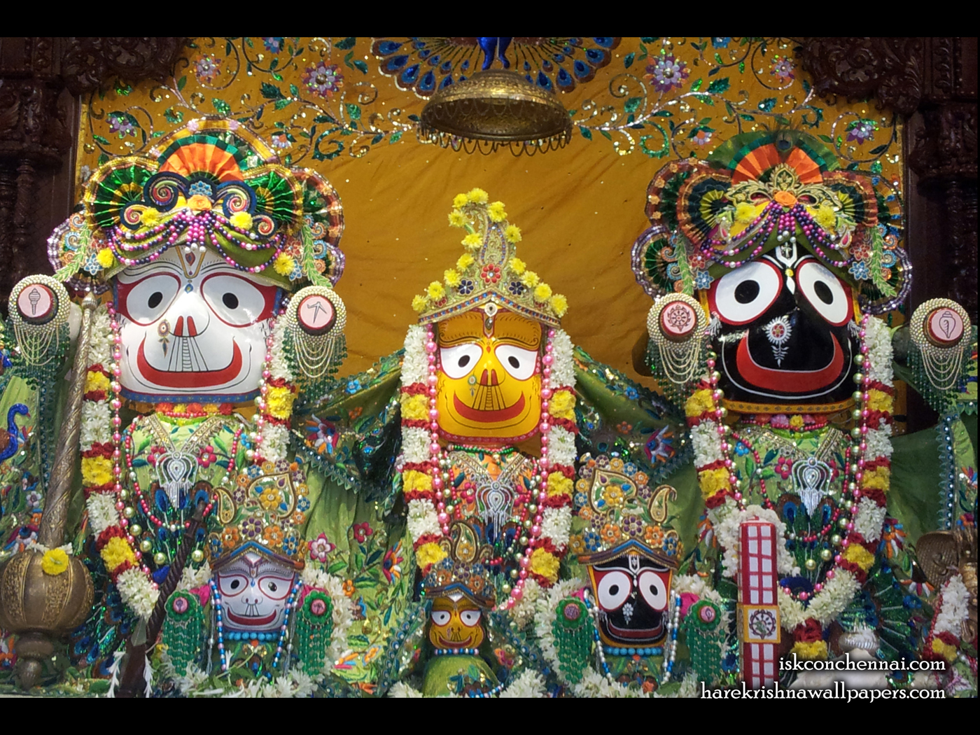 Jagannath Baladeva Subhadra Wallpaper (004) Size 1400x1050 Download