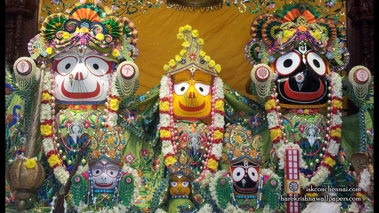 Jagannath Baladeva Subhadra Wallpaper (004) Size 1600x900 Download