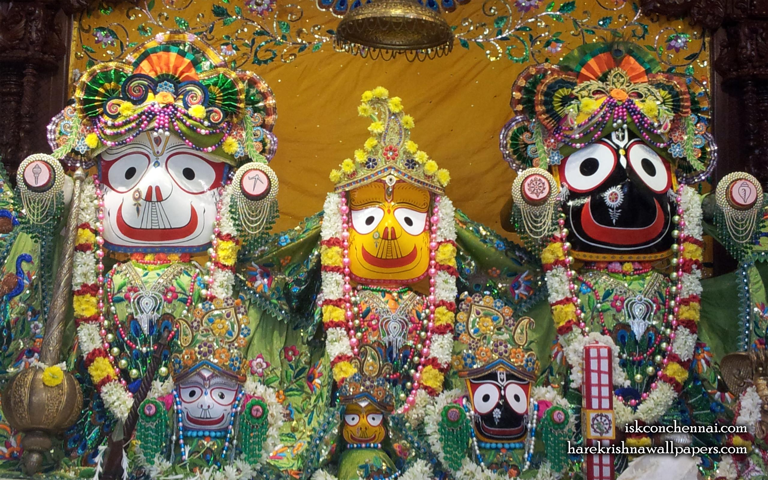 Jagannath Baladeva Subhadra Wallpaper (004) Size 2560x1600 Download