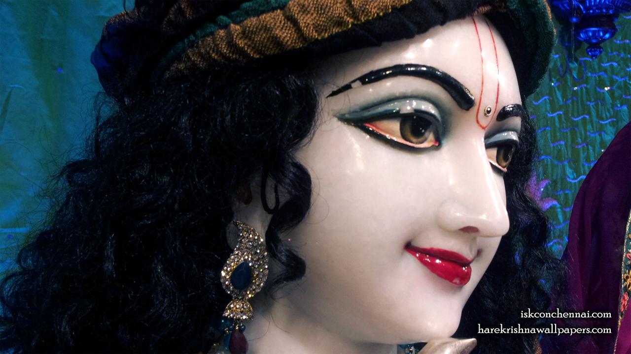 Sri Krishna Close up Wallpaper (004) Size 1280x720 Download