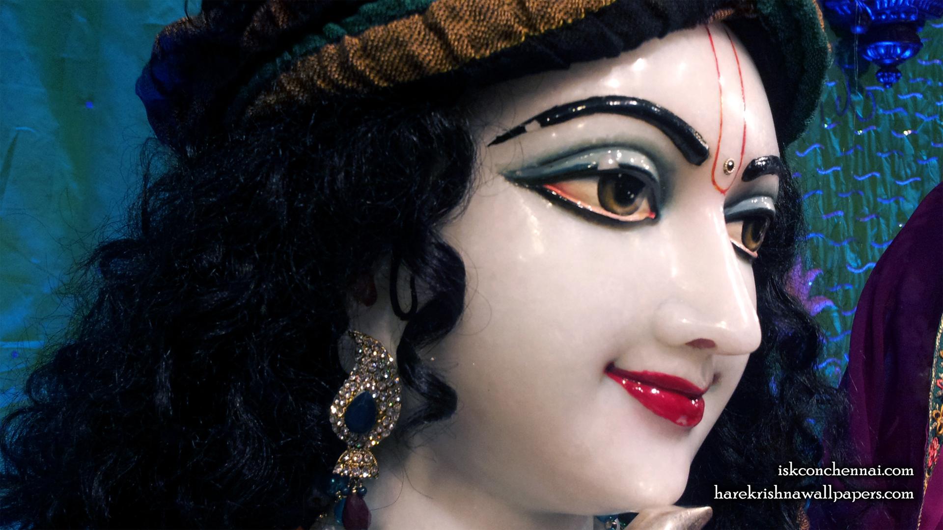 Sri Krishna Close up Wallpaper (004) Size 1920x1080 Download
