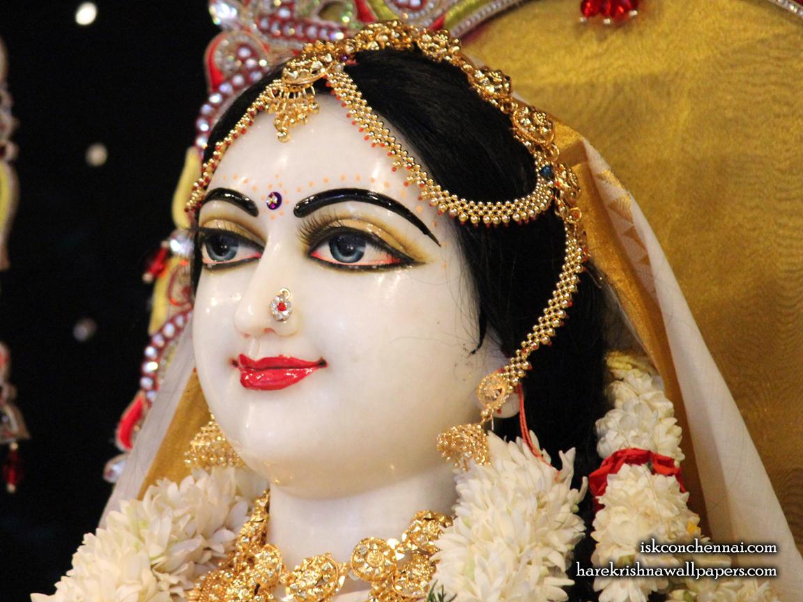 Sri Radha Close up Wallpaper (004) Size 1152x864 Download
