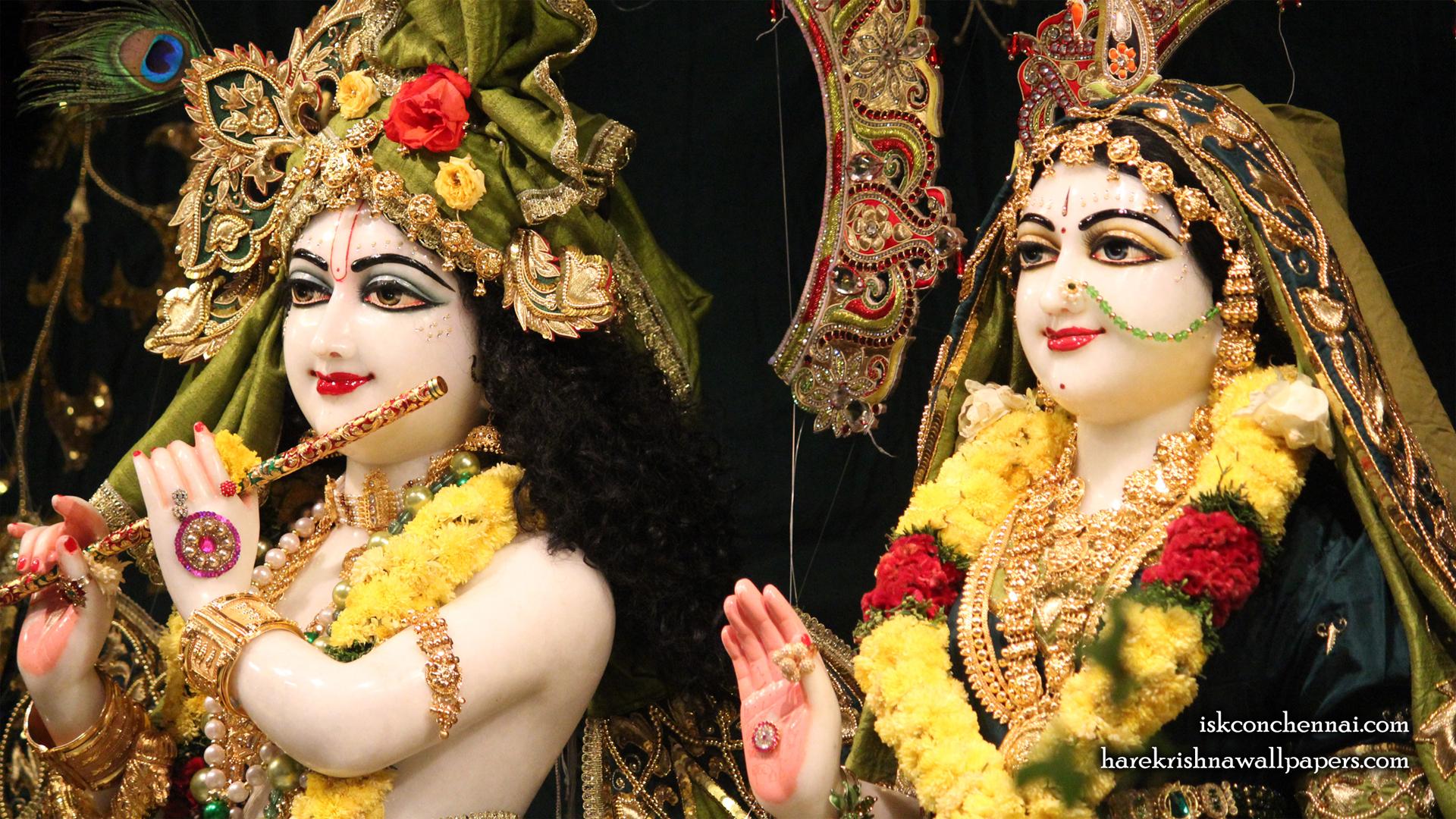Sri Sri Radha Krishna Close up Wallpaper (004) Size 1920x1080 Download