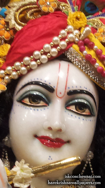 Sri Krishna Close up Wallpaper (005) Size 450x800 Download