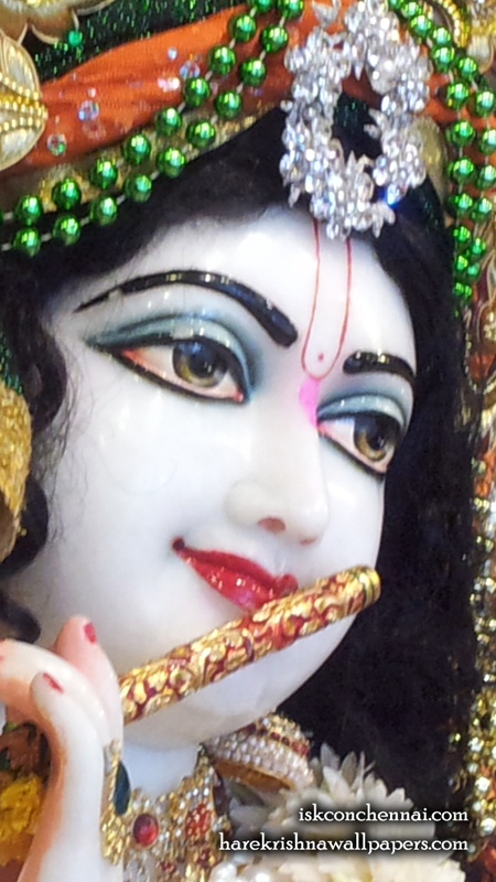 Sri Krishna Close up Wallpaper (006) Size 450x800 Download