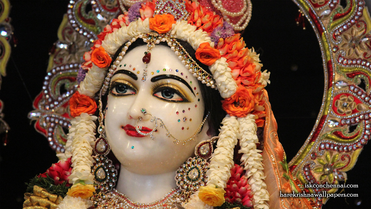 Sri Radha Close up Wallpaper (006) Size 1280x720 Download