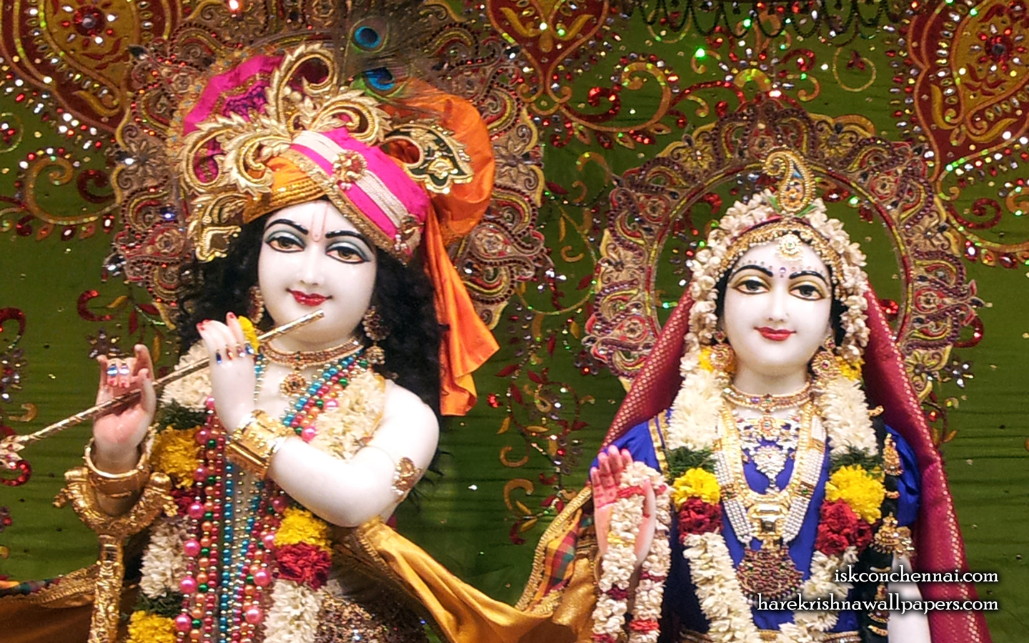 Sri Sri Radha Krishna Close up Wallpaper (006) Size 1440x900 Download