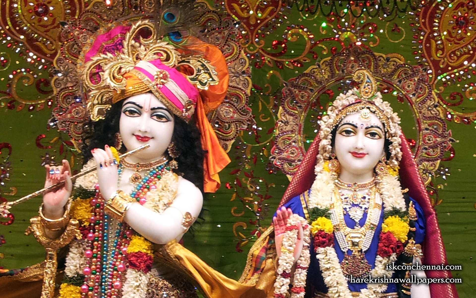 Sri Sri Radha Krishna Close up Wallpaper (006) Size 1920x1200 Download