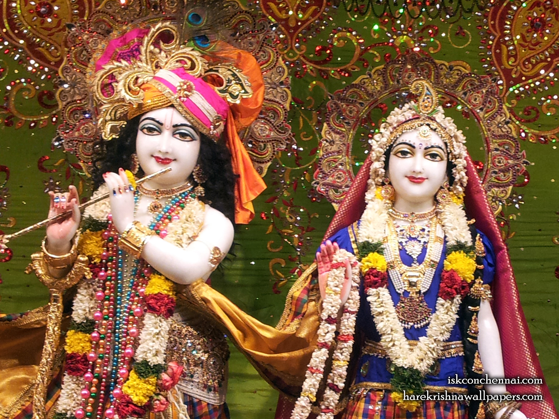 Sri Sri Radha Krishna Close up Wallpaper (006) Size 1920x1440 Download