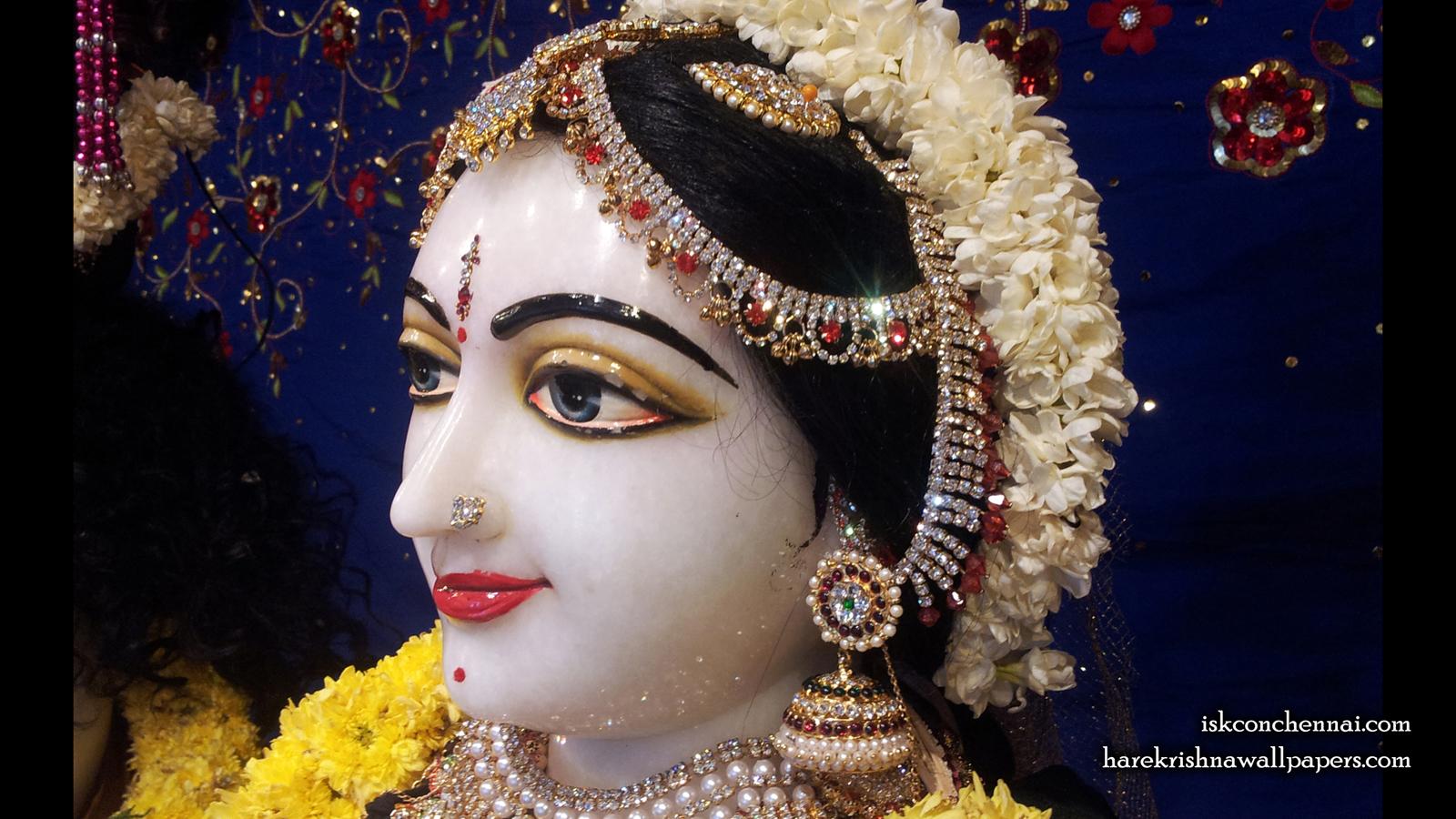 Sri Radha Close up Wallpaper (007) Size 1600x900 Download