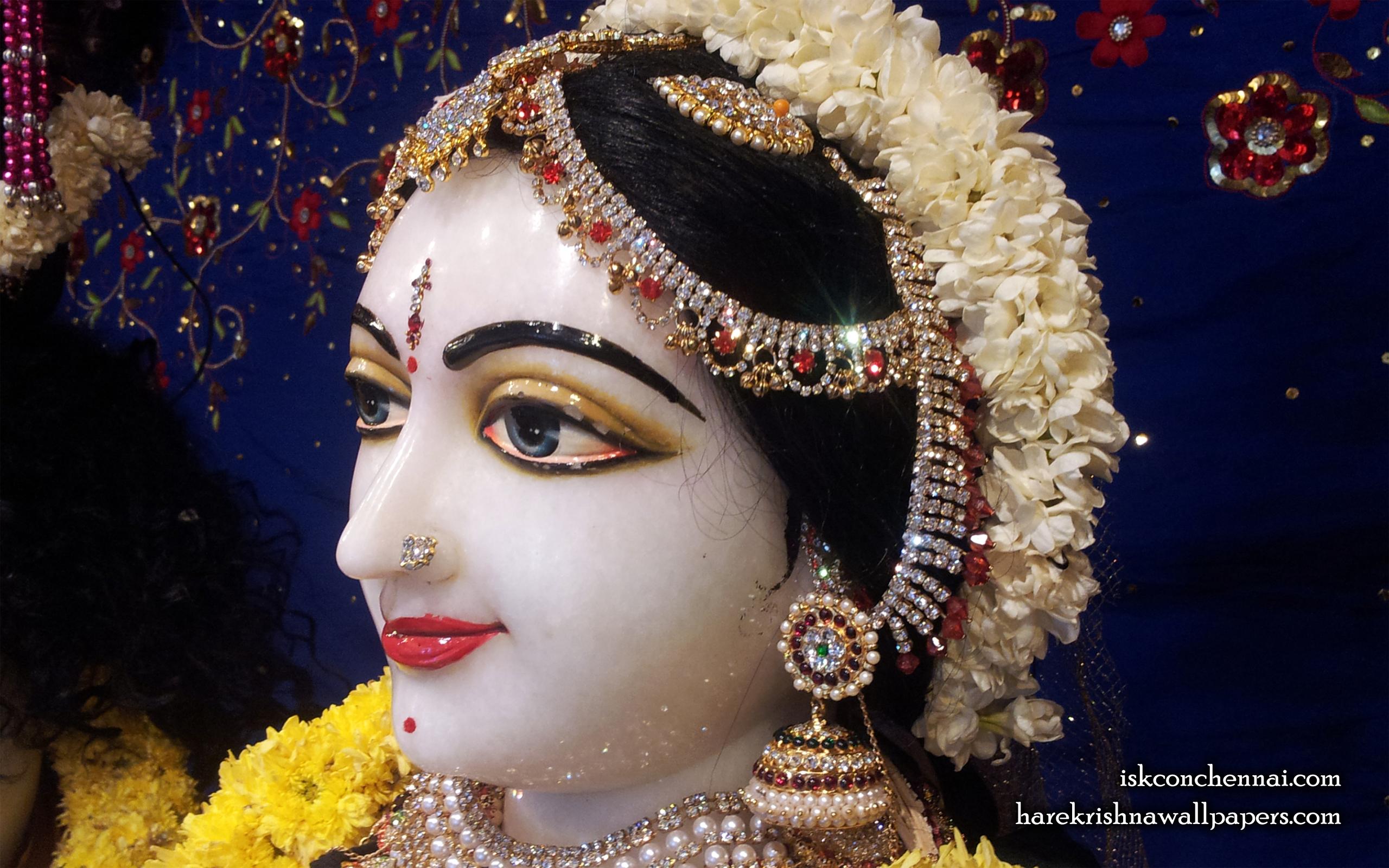 Sri Radha Close up Wallpaper (007) Size 2560x1600 Download