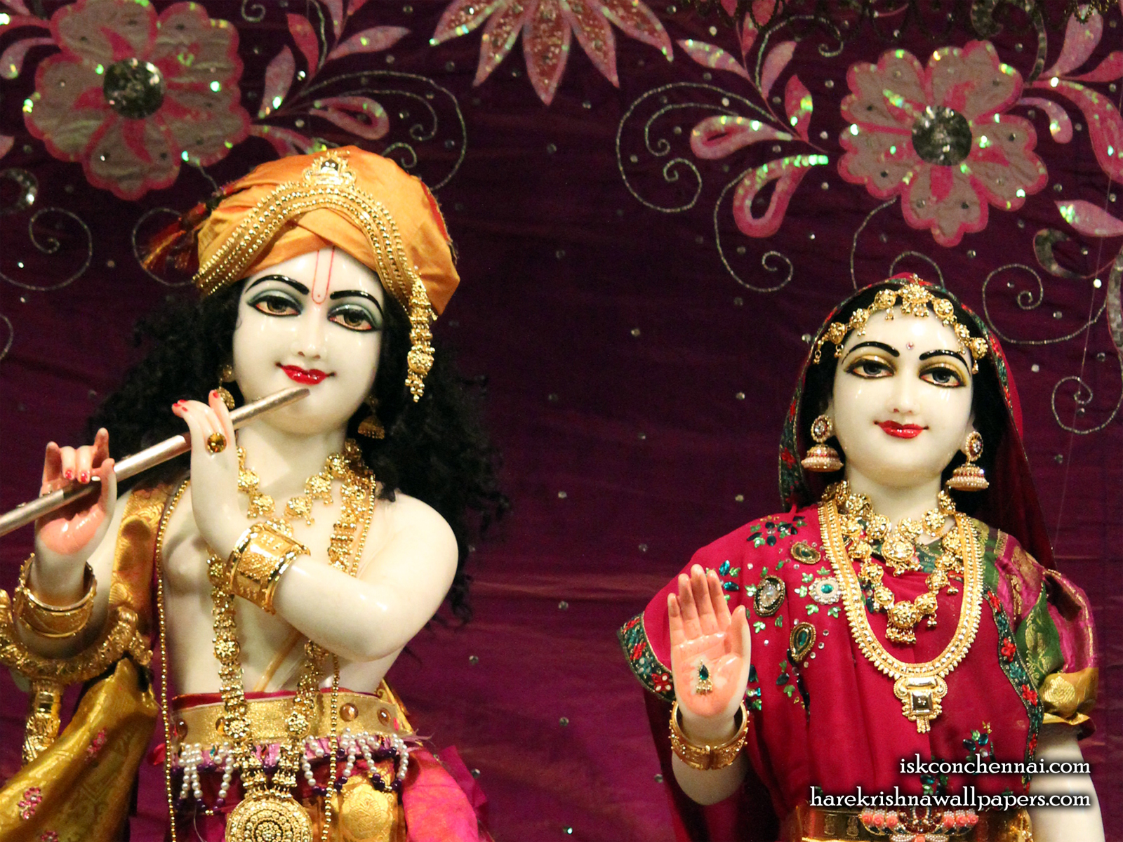 Sri Sri Radha Krishna Close up Wallpaper (007) Size1600x1200 Download