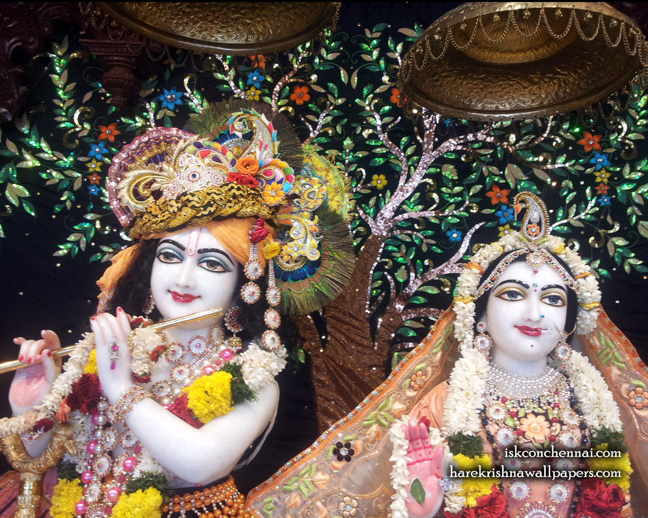 Sri Sri Radha Krishna Close up Wallpaper (008) Size 1280x1024 Download